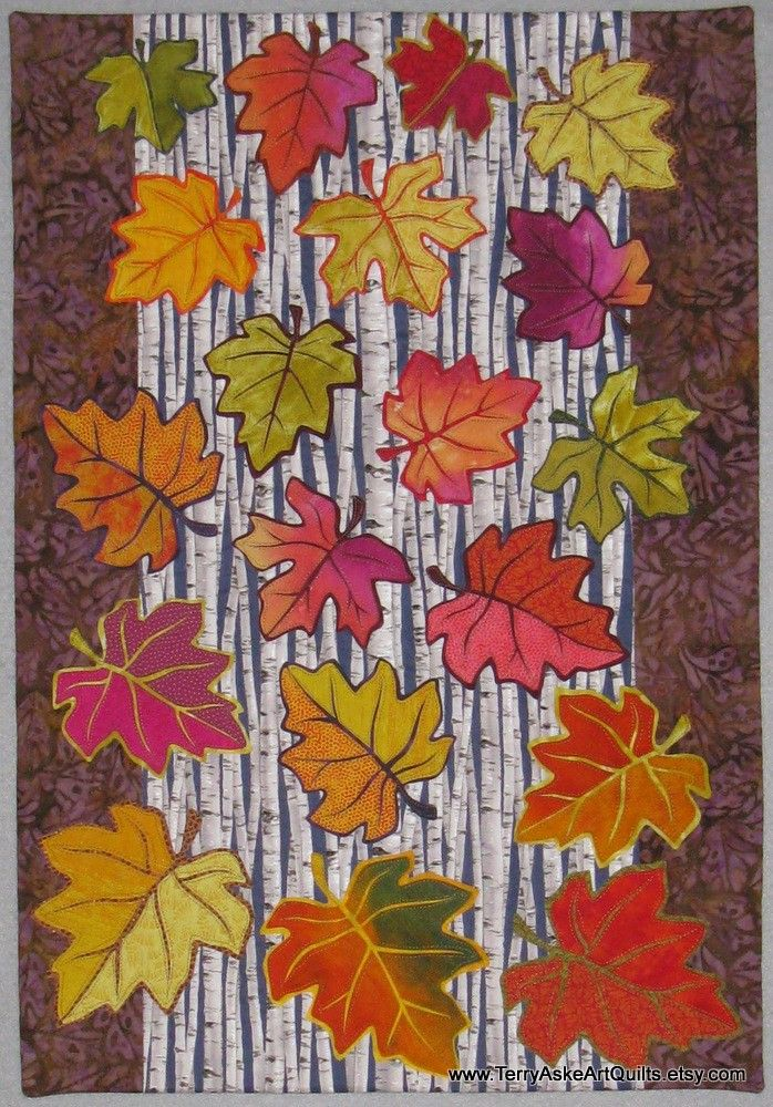 491 best Leaf Quilts ... images on Pinterest | Autumn quilts, Fall ... : quilt leaf pattern - Adamdwight.com