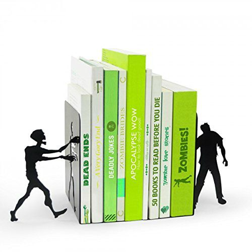 Zombie Bookends: Are you ready for the zombie apocalypse? the zombie bookends are the must-have accessory for all undead-inspired novels