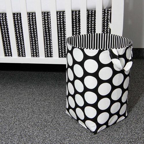 Sweet Kyla - GROOVY GIRAFFE Soft Nursery Hamper - Large Dot with Stripe, $59.99 (http://www.sweetkyla.com/groovy-giraffe-soft-nursery-hamper-large-dot-with-stripe/)
