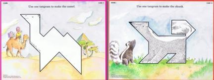 Tapis de tangrams à imprimer