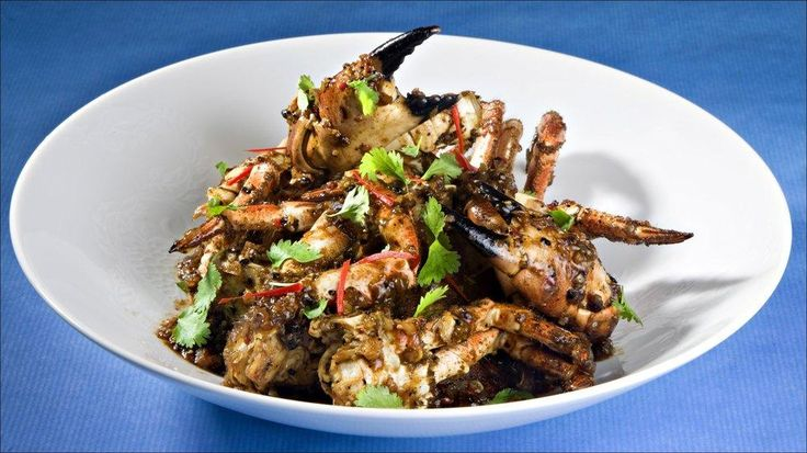 Pepperkrabbe - Krabben er som en pansret delikatesse. Man må jobbe litt for maten, men det er virkelig verdt innsatsen.