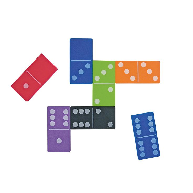 Jumbo Magnetic QuietShape® Dominoes - Set of 28 Jumbo Magnetic Dominoes are fun-to-use manipulatives that will enhance your students' understanding of numbers and facts. The great size and magnetic feature helps to easily engage students in whole class, small group, or partnership work. Made of durable, non-toxic QuietShape® foam, these dominoes add color and life to activities involving numbers, without adding noisy clatter to your classroom. What used to be an old fashioned game has now…