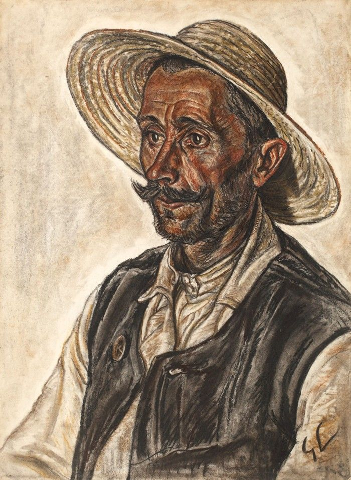 Portret de țăran (Ioan Vultur)