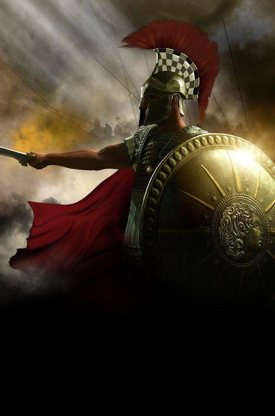 Greek Warrior - alejandro magno guerrero