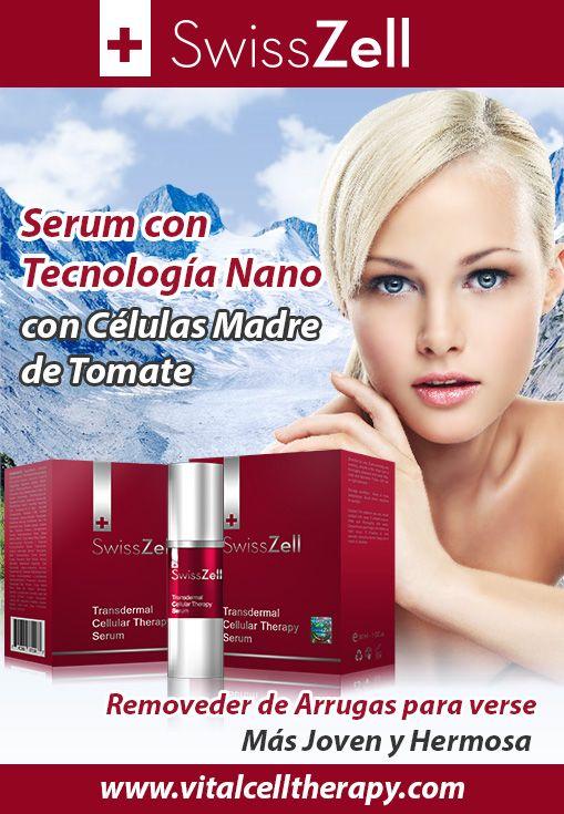 SwissZell, el tratamiento con licopeno para remover las arrugas con celulas madres de tomate que devuelvora la gloria de tu belleza.  #celulamadredetomate #terapiacelularconcelulamadredetomate #licopenocontomate