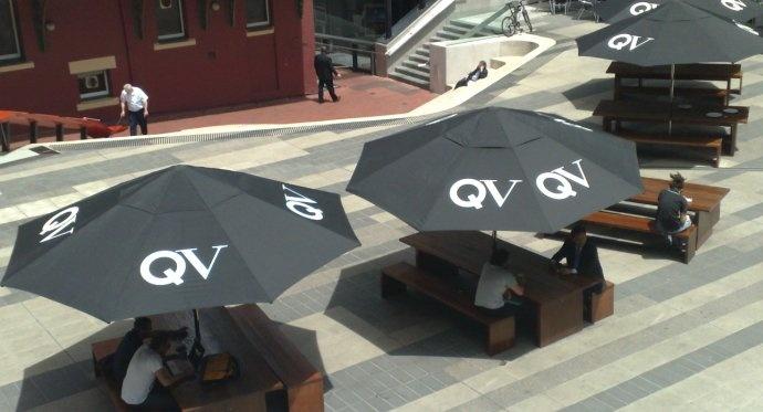 Bistro Outdoor Market Umbrella - Printed