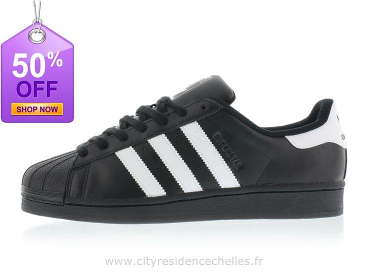 Adidas Superstar Fondement Noyau Noir/Ftwr Blanc/Noyau Noir Adidas Superstar  3