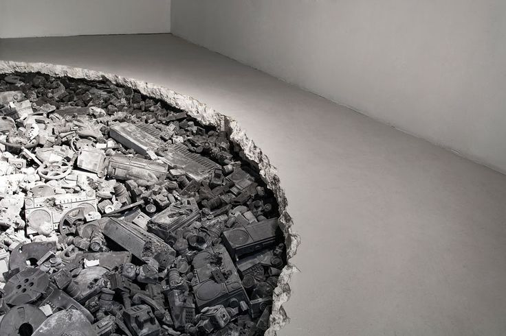 daniel arsham turns miami's locust projects into a future excavation site