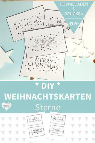 Weihnachtskarten Zum Selber Drucken.Weihnachtskarten Basteln Weihnachtsgrüße Weihnachtskarten Drucken