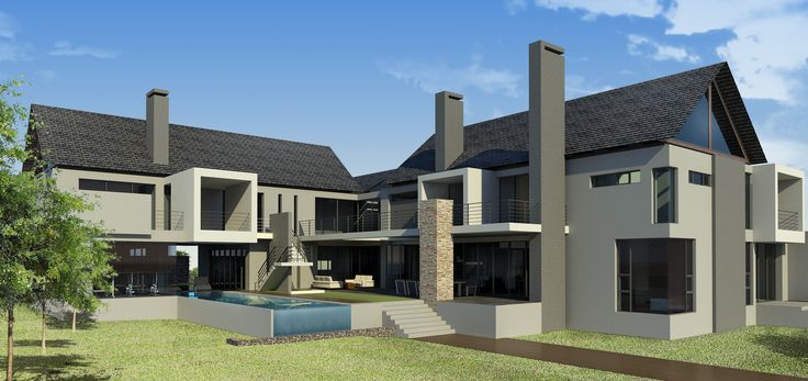 triple storey 2000 square meter house