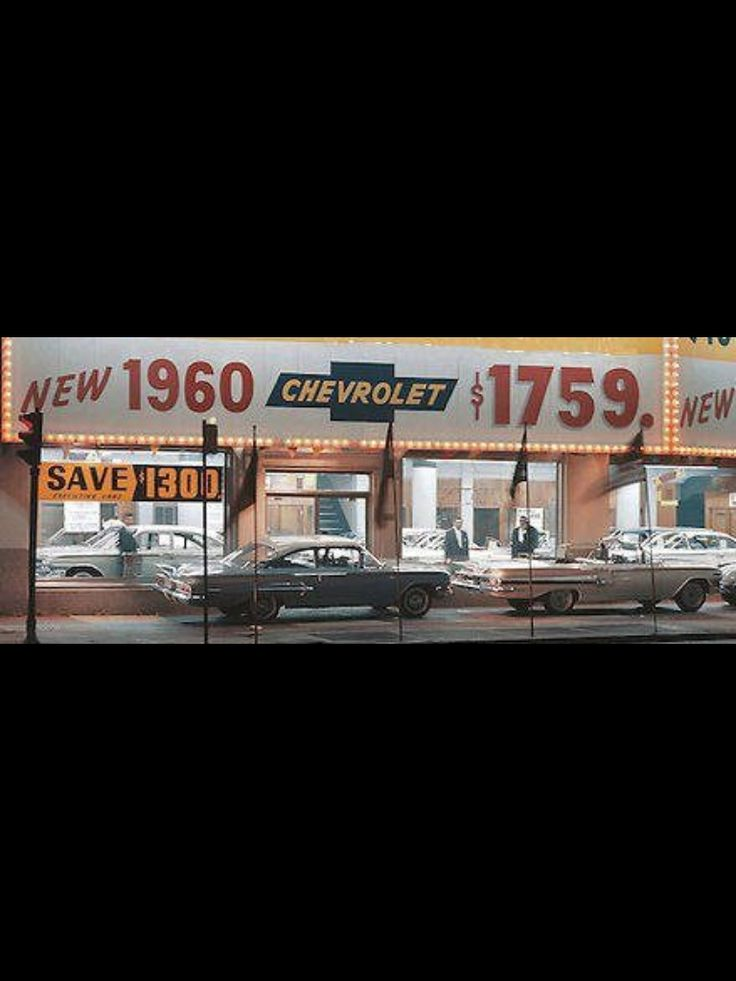 1960 Chevy Dealership - Buy a new Chevy for $1,759