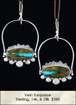 Skillful and Gorgeous. Amy Buettner Metalsmith: Pretty Earrings, Earrings 2Dayslook, Incredible Earrings, Jewelry Inspirations Earrings, Earrings Nice, 2Dayslook Earrings, Amy Buettner
