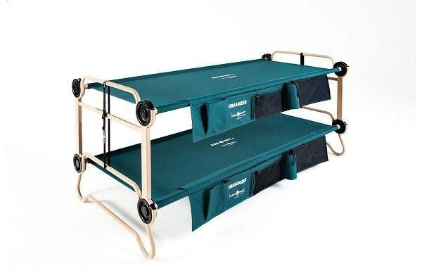 Cam-O-Bunk XL with side organisers 30002BO by Disc-O-Bed