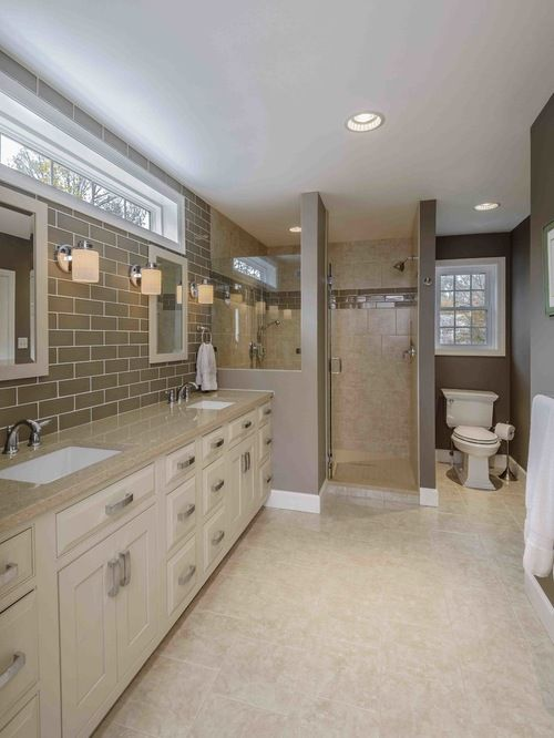 Window Over Vanity Home Design Ideas Pictures Remodel And Decor Master Bathroom Vanity