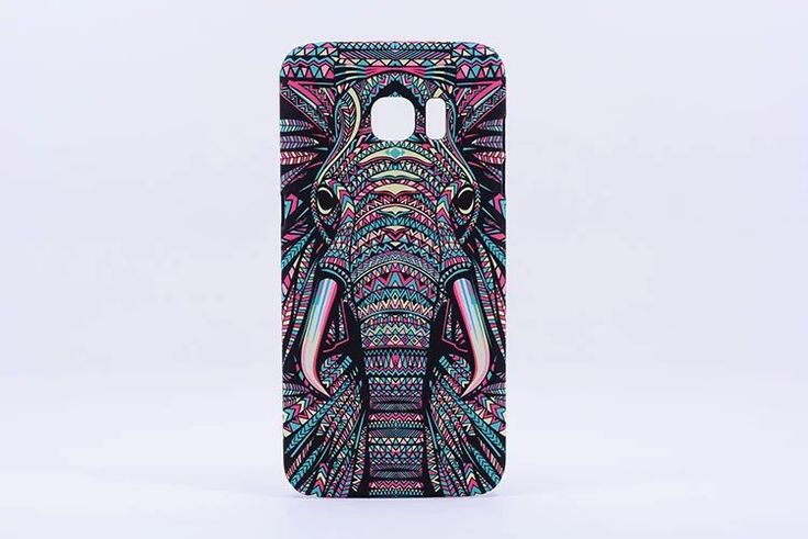 $16.99 - FREE SHIPPING for a limited time! Elephant Phone Case Cover for Samsung Galaxy S7 Edge Show off your love of elephants with this colorful case! Please allow 3-4 weeks for delivery                                                                                                                                                                                 More