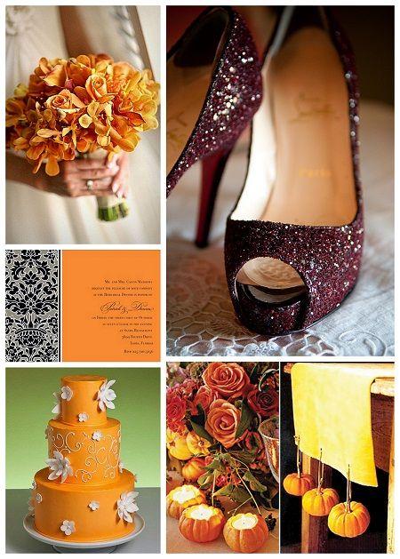 #Fall #Autumn #WeddingsFall Wedding Shoes, Sparkly Shoes, Bridesmaid Dresses, Wedding Ideas, Colors, Teas Lights, Fall Autumn, Autumn Weddings, Halloween Weddings