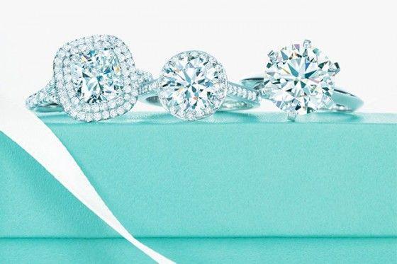 Anéis de noivado Tiffany&Co