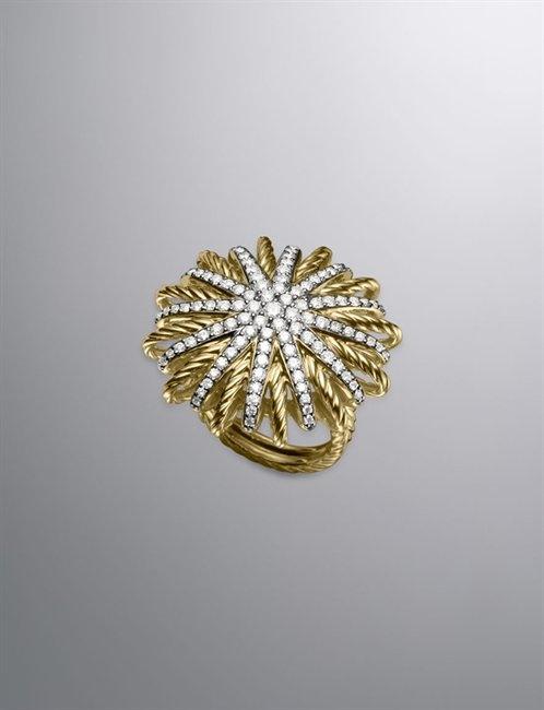David Yurman - STARBURST RING, PAVE DIAMONDS