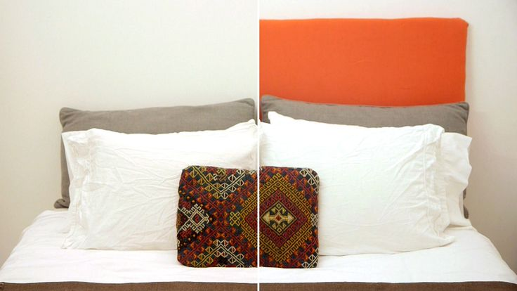 Learn how to make your own headboard