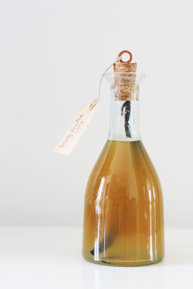 Honey and Vanilla Syrup - A Great Homemade Gift