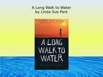 A great way to introduce the book, A Long Walk to Water. This PowerPoint includes slides that introduce the author, the characters, and the setting. There is also a KWL chart that you can use with your students as you present. There are also 3 videos embedded into the slideshow and a link to Linda Sue Park's website.