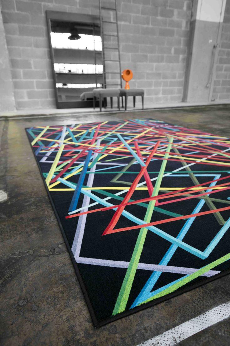 THE NET by Besana Moquette Design Simone Micheli