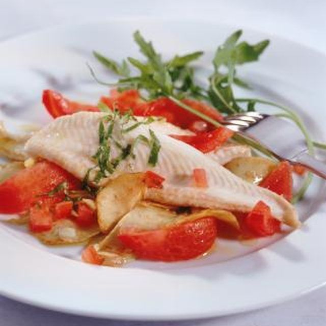Steaming fish will produce a light and healthy entree.