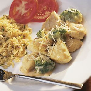 Chicken Divan With Aromatic Rice