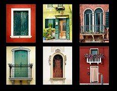 Pencere, Kolaj, Italya