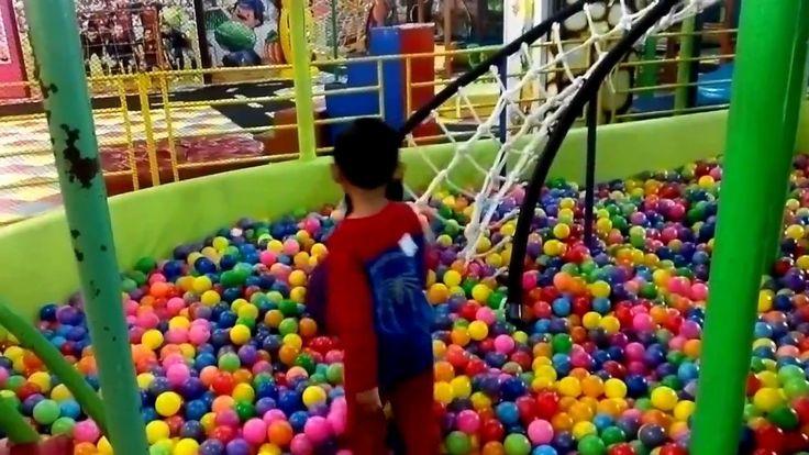 Pesta Mandi Bola Spiderman anak fun bermain Prosotan Indoor Playground I...