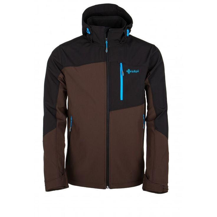 Men's softshell jacket KILPI - ELIO - brown