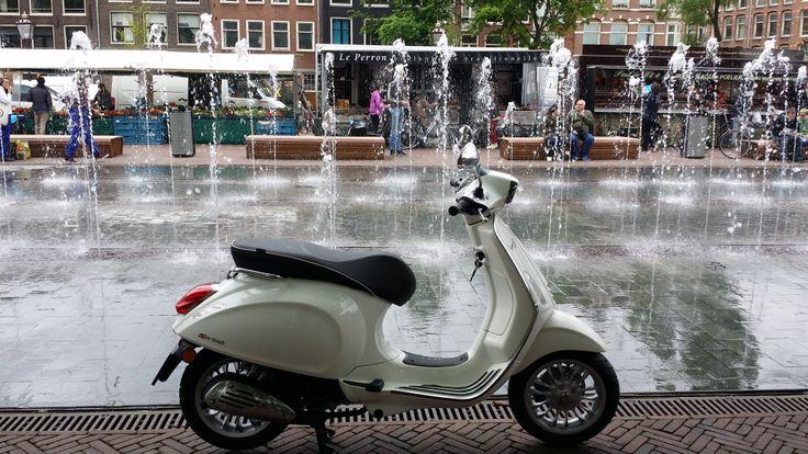 Vespa Sprint van € 3299,- bij scooterking. www.scooterkingonlinewinkel.nl en www.scooterking.eu