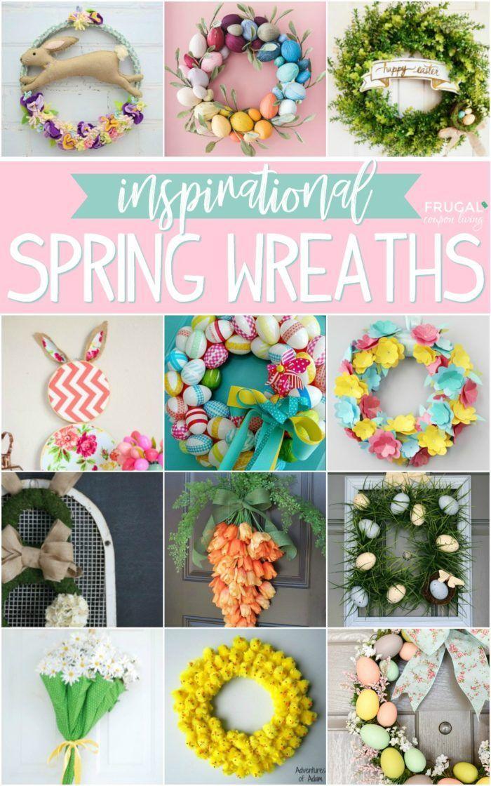 Inspirational Spring Easter Wreaths Easter Wreaths Easter Wreath Diy Diy Easter Decorations