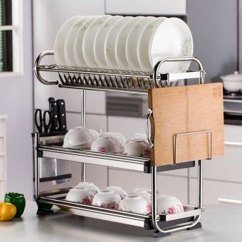 Beautiful Special Prices Three Layer Stainless Steel Dish RackOrder In Good  Conditions Three Layer Stainless Steel Dish Rack You Save  OE702HLABMLZFIANMY 127478215 ...