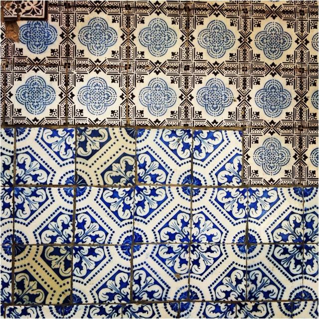 #lisbon #lisboa #tile #azulejo #pattern #padrao #mixed #misturado