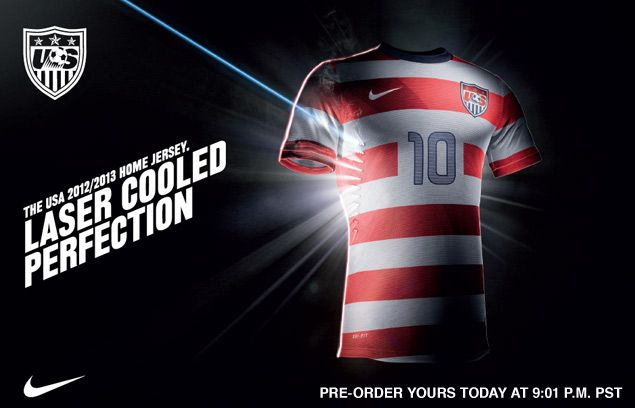 Image result for usa soccer jersey 2012
