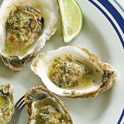 I adore oysters cooked any way imaginable.