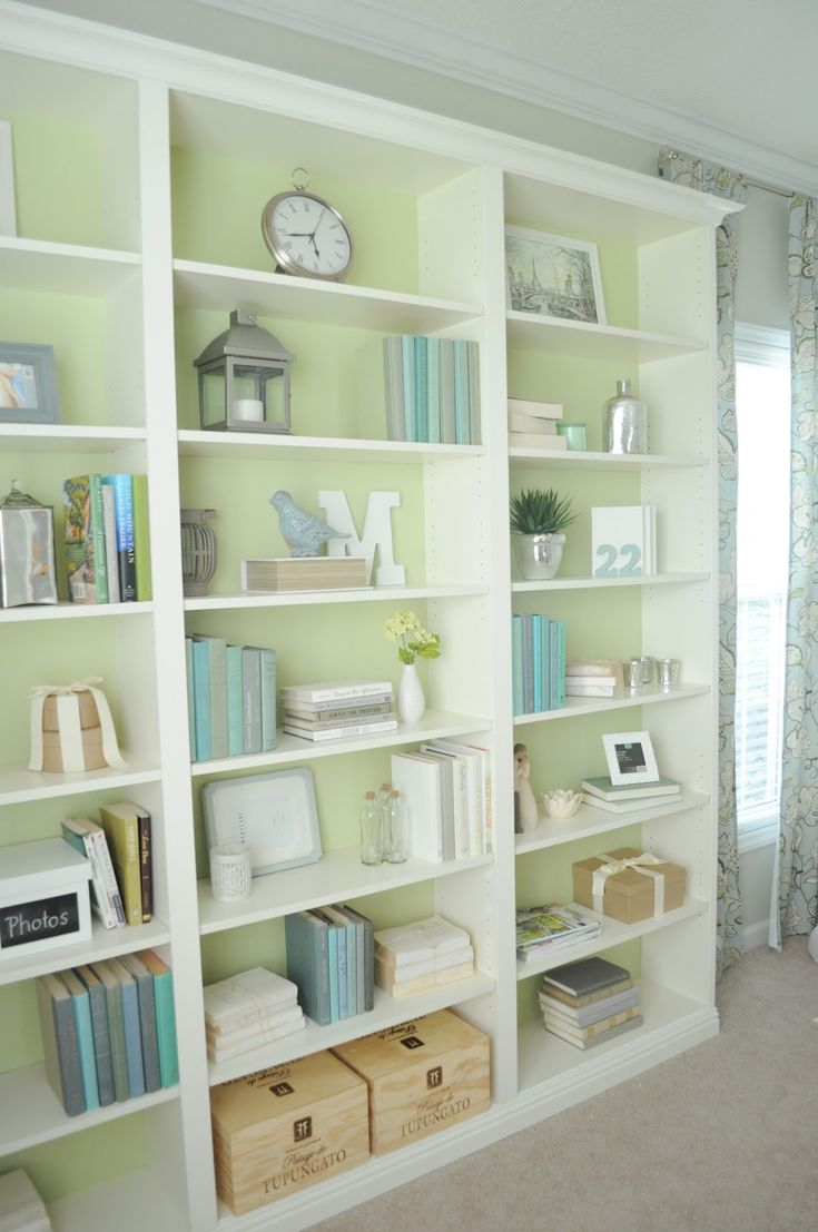 Not So Newlywed McGees: Our Finished Bookshelves