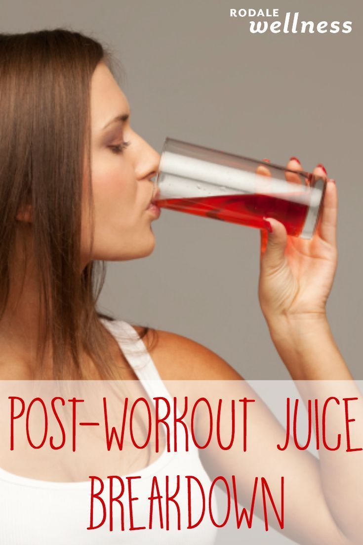 The Post-Workout Juice Breakdown Skip the sports drink and squeeze these instead.