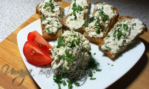 Uwaga Babcia Gotuje: Pasta z Makreli i Twarogu na kanapki