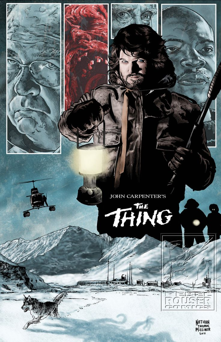 THE THING by MalevolentNate.deviantart.com on @deviantART