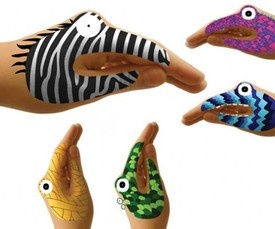 PERSPECTIVE: ANIMAL e MONSTER HANDS di Hector Serrano. Animali e mostri dipinti a mano. ANIMAL & MONSTER HANDS by Hector Serrano. Animals and monsters hand-painted.