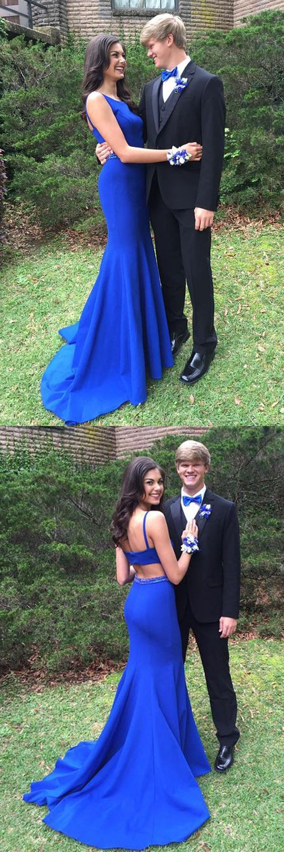 Royal Blue Prom Dress,Mermaid Prom Dress,Backless Prom Dress,Fashion Prom Dress,Sexy Party Dress,Custom Made Evening Dress