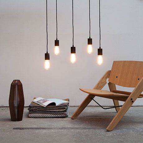 cero 5 pendant lamp by bulb attack monoqi bestofdesign. Black Bedroom Furniture Sets. Home Design Ideas