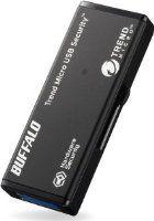 BUFFALO ハードウェア暗号化機能 USB3.0 セキュリティーUSBメモリー ウイルススキャン1年 4GB RUF3-HSL4GTV