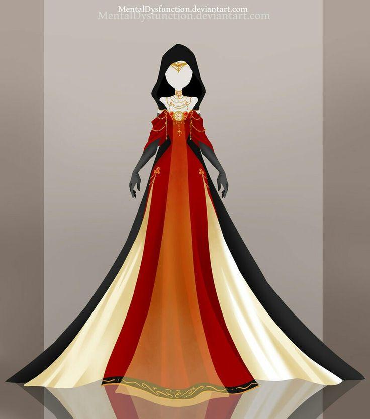 Little Darkness's dress