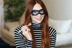 Quick & Easy Robber Halloween Mask Makeup