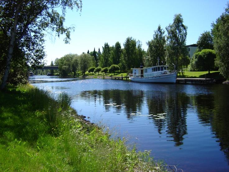 Jämsänjoki    Jämsä's river  http://www.facebook.com/MatkaMaalle  http://www.keskisuomi.net/  http://www.centralfinland.net/