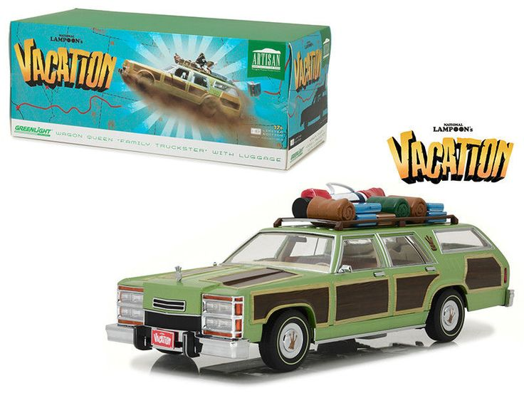 1979 Family Truckster Wagon Queen National Lampoon's Vacation 1/18 by Greenlight #Greenlight #FamilyTruckster