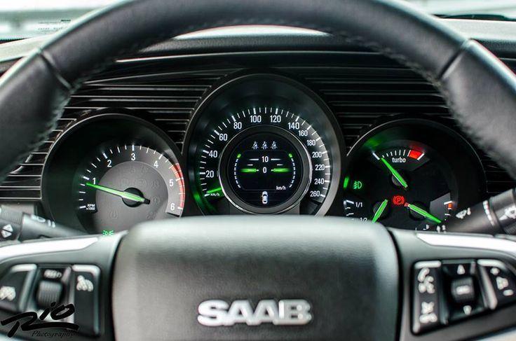 2010-2011 Saab 9-5 NG gauges